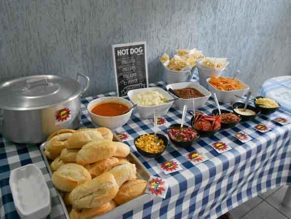 Ideias para servir comida em festa infantil 008