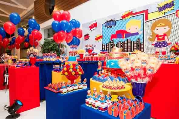 Ideias para servir comida em festa infantil