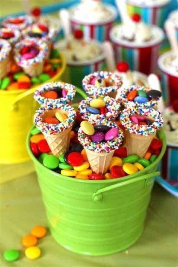 Ideias para servir comida em festa infantil 013