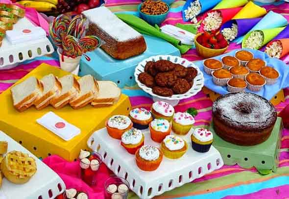 Ideias para servir comida em festa infantil 016