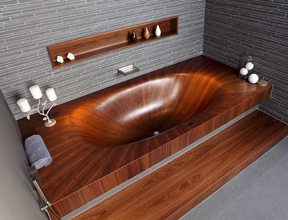 Banheiras-de-madeira