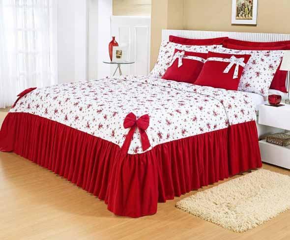 Modelos colchas de casal modernas for Colchas para camas grandes