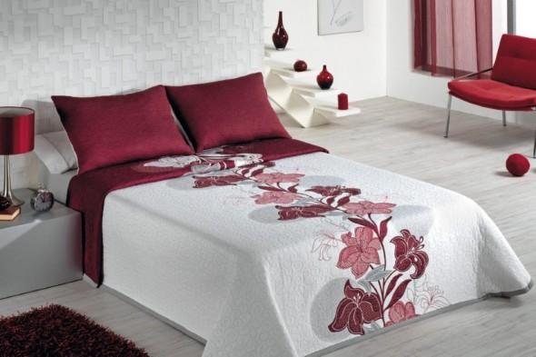 Modelos colchas de casal modernas - Colchas para camas de 150 ...