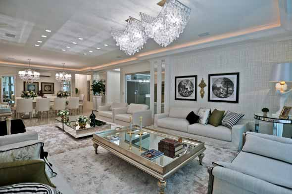 Lustre Para A Sala De Estar ~ Modelos de lustres para sala de estar 004