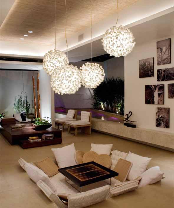Lustre De Sala De Estar ~ Modelos de lustres para sala de estar 005