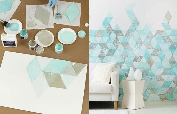 Como pintar as paredes com moldes 004