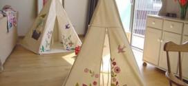 Faça uma divertida cabana no quarto das crianças