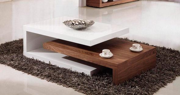 V rios estilos de mesa de centro for Mesas de centro modernas y baratas