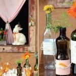 usar garrafas de vidro na decoração 007