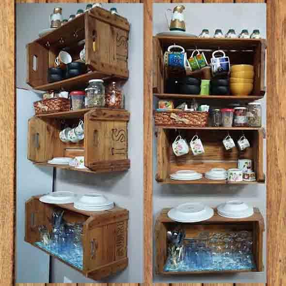 Caixotes de feira na cozinha 012