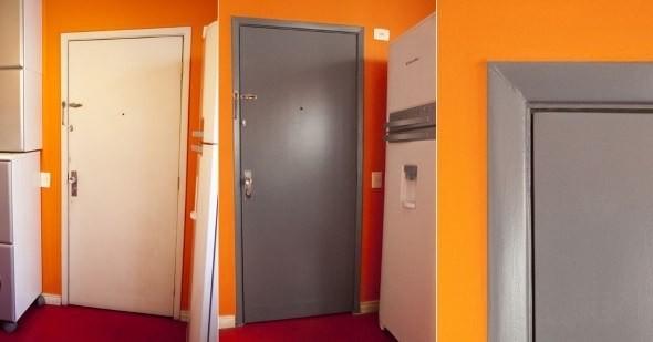 DIY - Como pintar uma porta de madeira 002