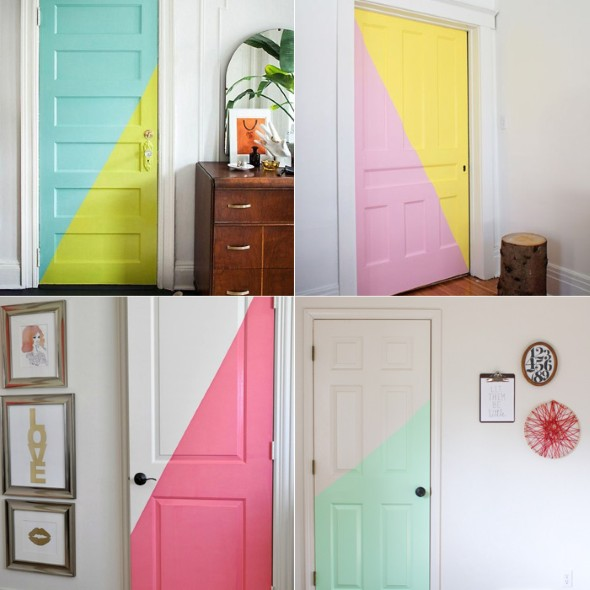 DIY - Como pintar uma porta de madeira 003