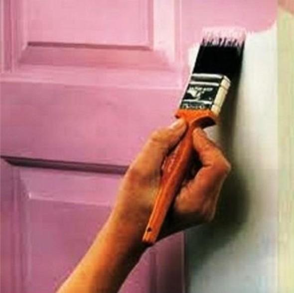 DIY - Como pintar uma porta de madeira 004