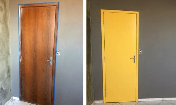 DIY - Como pintar uma porta de madeira 006