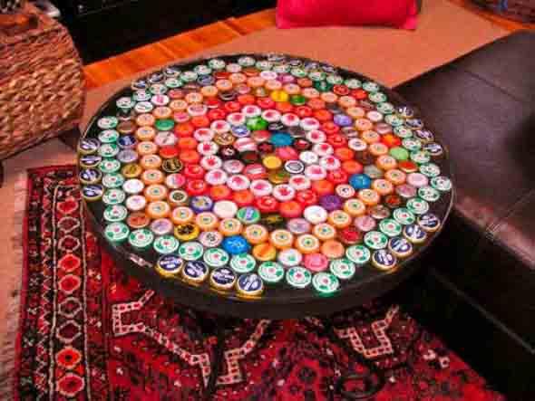 Dicas criativas com tampinhas de garrafas 003