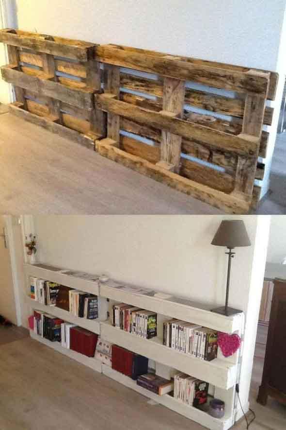 Como montar uma estante de livros em casa 001