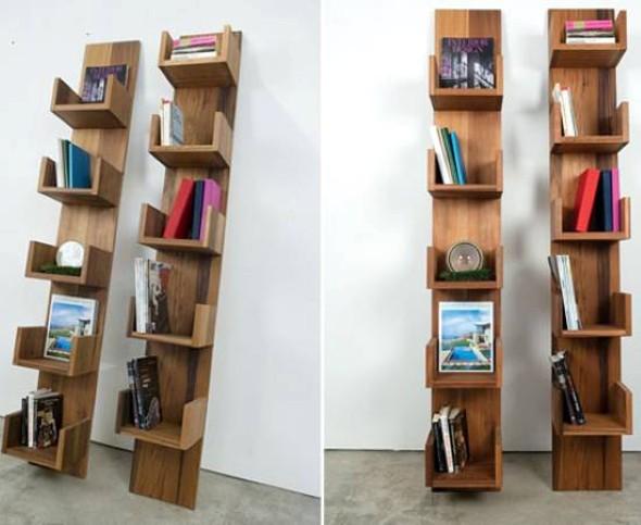 Como montar uma estante de livros em casa 002
