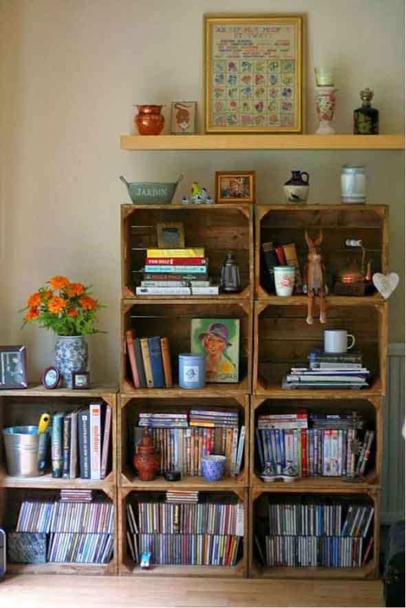 Como montar uma estante de livros em casa 003