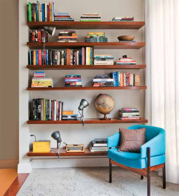 Como montar uma estante de livros em casa 004