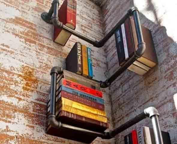 Como montar uma estante de livros em casa 005