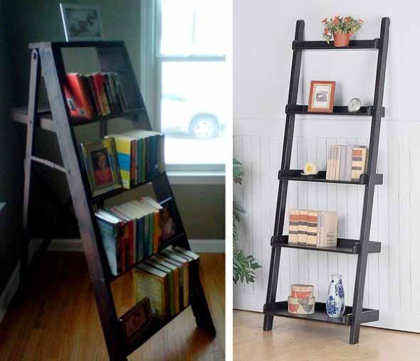 Como montar uma estante de livros em casa 007
