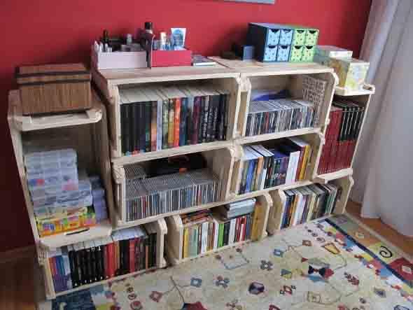 Como montar uma estante de livros em casa 008