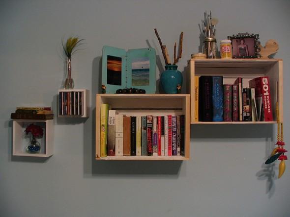 Como montar uma estante de livros em casa 009