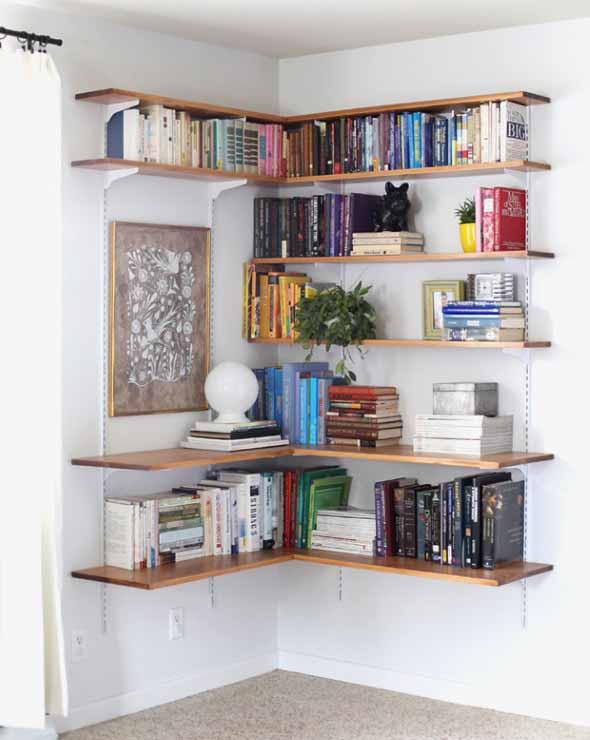 Como montar uma estante de livros em casa 011