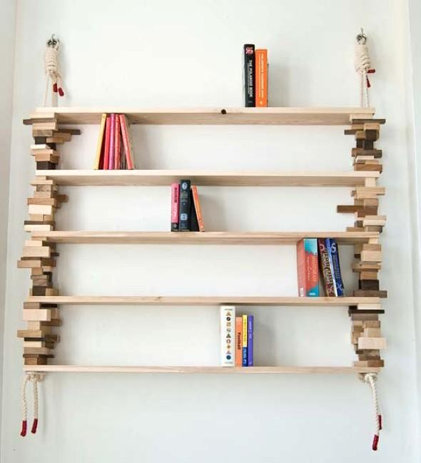 Como montar uma estante de livros em casa 012