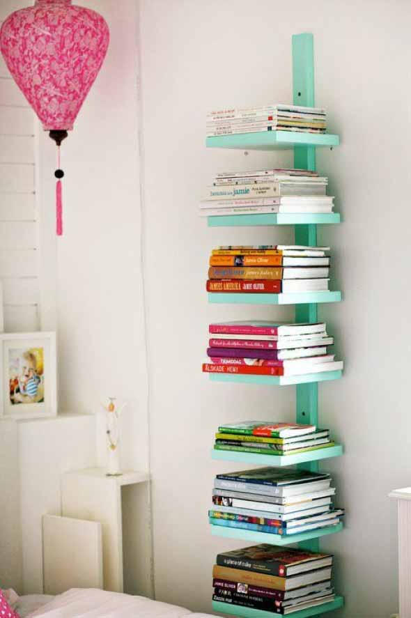 Como montar uma estante de livros em casa 014