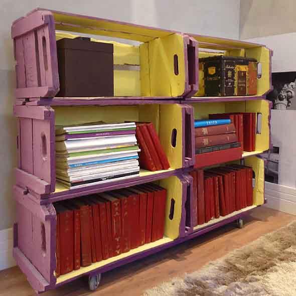 Como montar uma estante de livros em casa 018