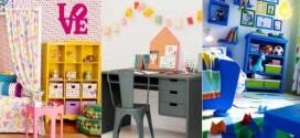 Decore sua casa com móveis coloridos