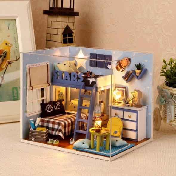 Decore sua casa com miniaturas charmosas e criativas 010