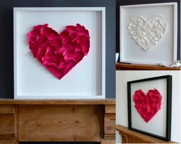 Quadro de coração para o Dia dos Namorados 003