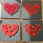 Quadro de coração para o Dia dos Namorados 004