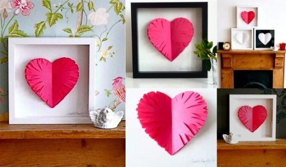 Quadro de coração para o Dia dos Namorados 006