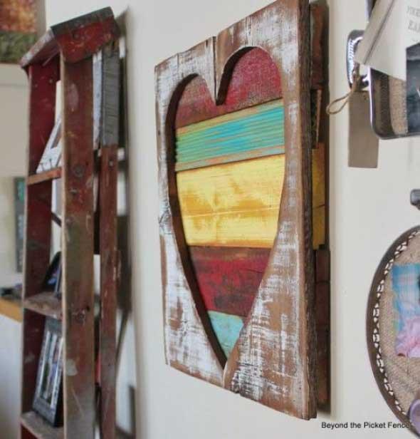 Quadro de coração para o Dia dos Namorados 015