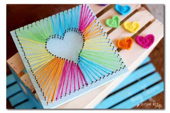 Quadro de coração para o Dia dos Namorados 017