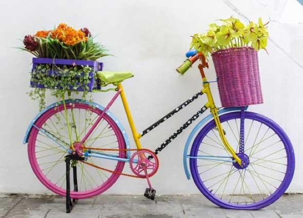 Bicicletas antigas na decoração 002