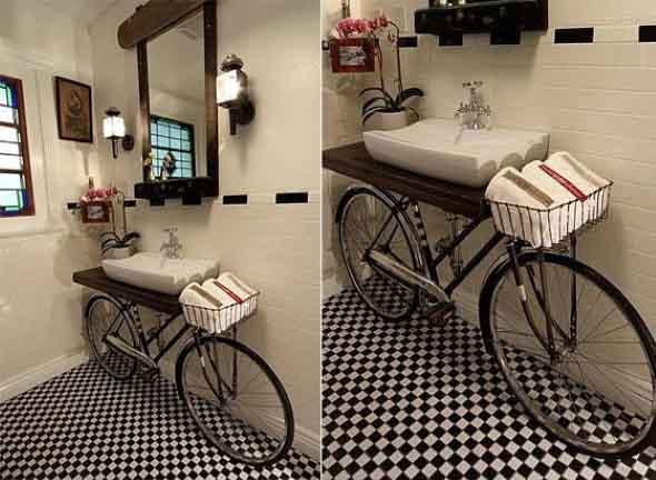 Bicicletas antigas na decoração 010