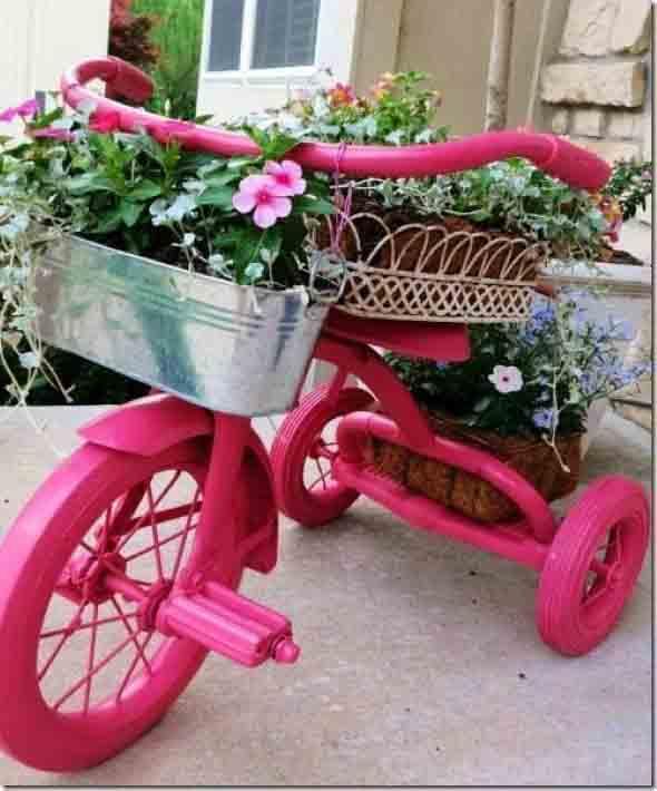 Bicicletas antigas na decoração 011