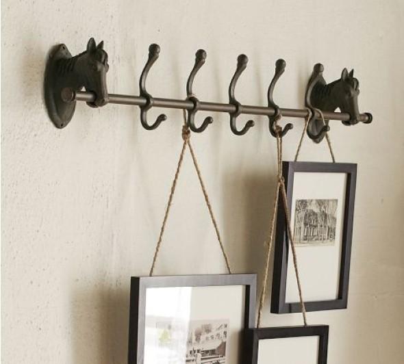 Como usar ganchos e cabideiros na decoração 003