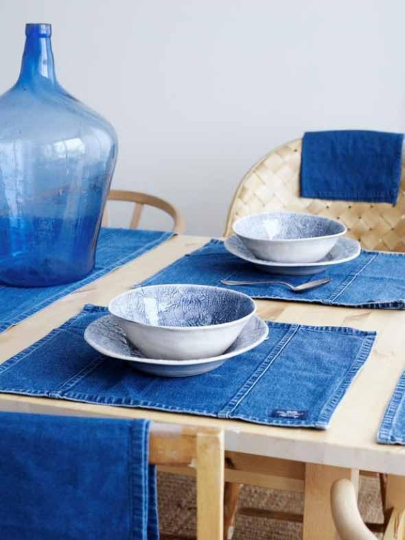 Decore sua casa com peças de jeans velhos 001