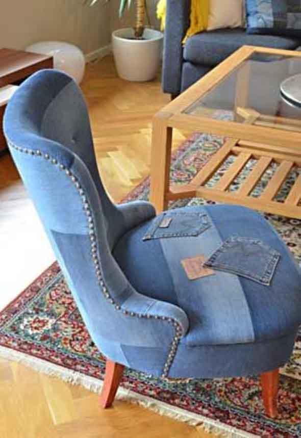 Decore sua casa com peças de jeans velhos 002
