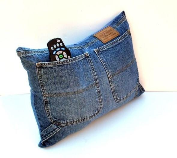 Decore sua casa com peças de jeans velhos 003