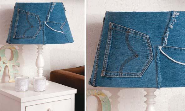 Decore sua casa com peças de jeans velhos 005