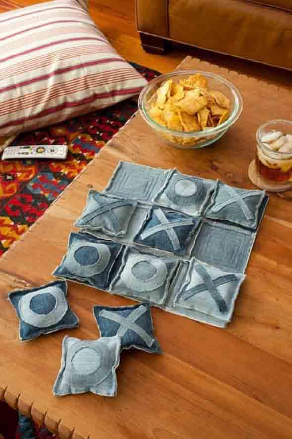Decore sua casa com peças de jeans velhos 009