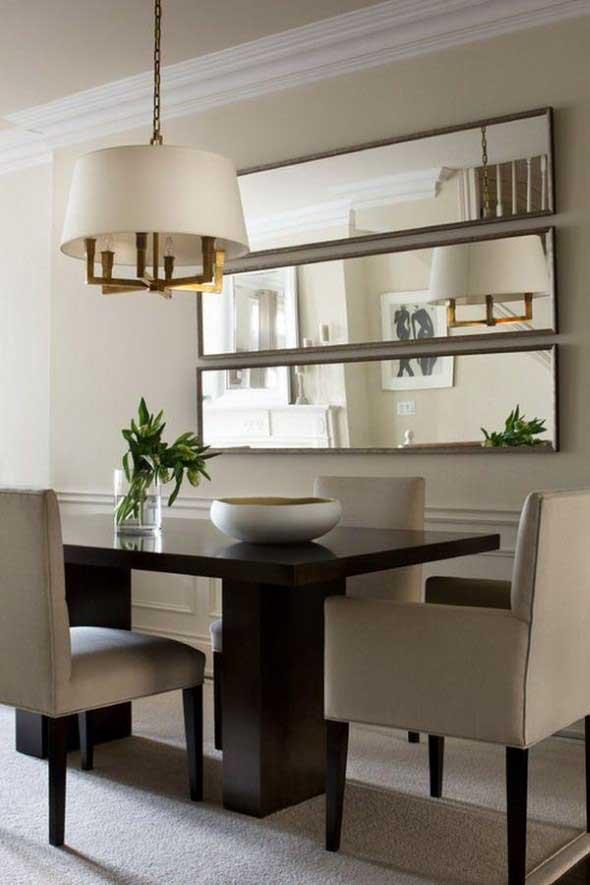 Decore sua sala de jantar com espelhos 006