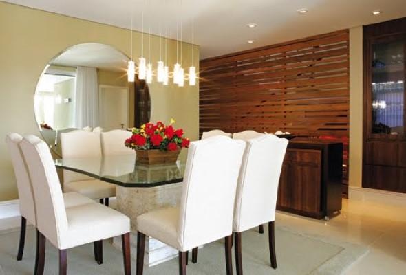 Decore sua sala de jantar com espelhos 011