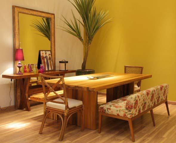 Decore sua sala de jantar com espelhos 016